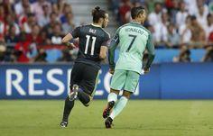 Cristiano Ronaldo Portugal vs Gales  Eurocopa 2016
