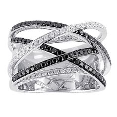 black diamonds, ring