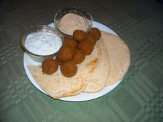 Greek-Falafel, Hummus and Tzatziki recipes
