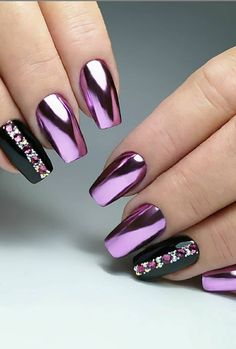 61 Awesome Coffin Nail Designs You'll Flip For - Page 19 of 61 - Lily Fashion Style