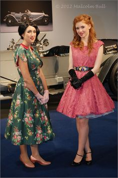 All sizes | Motor Show Girls - Goodwood Revival (0052) | Flickr - Photo Sharing!
