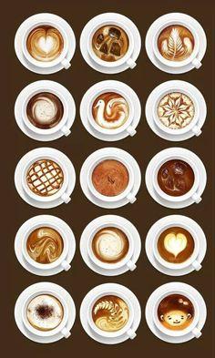 Cool cappuccino