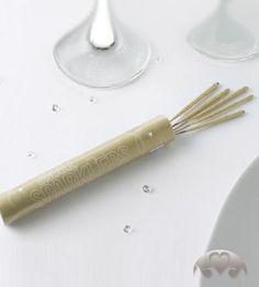 10x Wunderkerzen gold 11cm für Party, Hochzeit, Feier