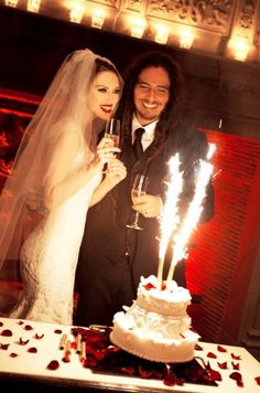 James 'Munky' Shaffer and Evis Xheneti on their Wedding Day at the Four Seasons in Paris, France