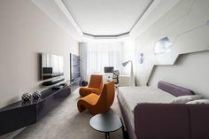 Futuristic Apartment In Russia 7 Moderne Wohnung, Wohnung Einrichten,  Innendesign, Wohnzimmer, Wohnungsplanung