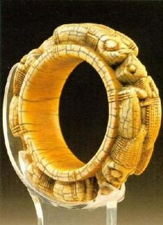 Antique ivory African cuff.