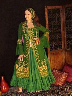 We3 Belly Dance  Gypsy Rennaissance Cassandra Ghawazee Coat & Tiered Skirt l/xl #we3Label #GhawazeeCoatandTieredSkirtSASHNOTINCLUDED