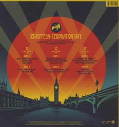 Celebration Day (3 LP Vinyl Package)   Celebration Day (3 LP Vinyl Package) On December 10, 2007, Led Zeppelin took the stage at London's O2 Arena to headline a tribute concert for dear friend and Atlantic Records founder Ahmet Ertegun. What followed was a two-hour-plus tour de force of the band's signature blues-infused rock 'n' roll that instantly became part of the legend of Led Zeppelin. Founding members Robert Plant, Jimmy Page and John Paul Jones were joined by Jason Bonham, th..