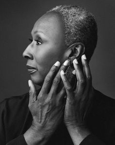 Judith Jamison. If you ever saw her dance - you will remember her hands. Powerful.