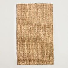 Basket Weave Jute Rug