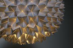 DIY Fortune Teller Sphere Pendant Light
