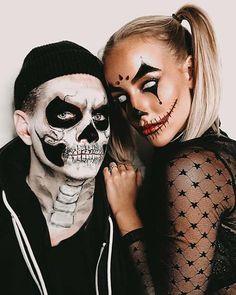 Couples Halloween Costumes Creative, Happy Halloween, Scary Couples Halloween Costumes, Zombie Halloween Costumes, Best Couples Costumes, Unique Costumes, Halloween Stuff, Halloween Makeup, Halloween Ideas