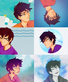 "I like Fan made  percy  Jackson so much better than the official art... (Notice how I said ""I like it"" not ""its better"" I don't like it when people insult Rocco. He worked hard on making the official art!"