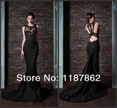 Aliexpress.com : Buy ED 0097 New Black Dress 2014 Mermaid Long Evening Dress Vestidos De Fiesta Dress Party Evening Elegant from Reliable Evening Dresses suppliers on Sophia Wedding Dresses