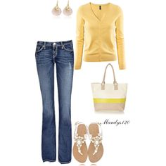 Pops Of Yellow :)