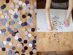 Dots and squares from Karen Barbe