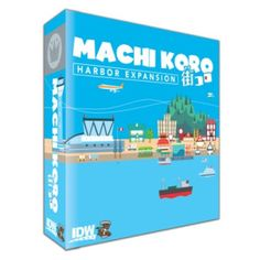 Harbor Expansion for Machi Koro - This adds greatly to the base game!