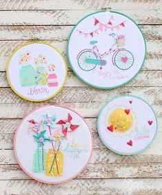 New! The Hoopla Stitching Collection & More!