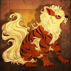 I felt inspired to draw Arcanine similar to a Fu Dog yup Fu Dog of Fire Phenix Tattoo, Pokemon Tattoo, Fu Dog, Lion Dog, Catch Em All, Digimon, Dog Art, Sailor Moon, Kawaii