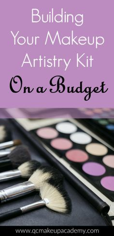Your professional #makeupkit is your source of income. But how do you build one without breaking the bank? Check out our tips on how to build a great #makeupartistry kit that is both affordable and professional!
