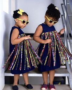 African girls dress girls African fashion tassle dress for girls baby girl dress kids dress African dress for girls kids African clothing - - Baby African Clothes, African Dresses For Kids, Latest African Fashion Dresses, African Girl, African Print Dresses, Girls Dresses, African Outfits, Dress Fashion, African Prints