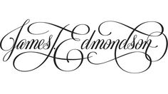 James Edmondson, CCA student, professional typographer