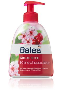 Balea cherry liquid hand soap