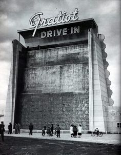 One of the two drive in theaters we had while growing up in Mt. Clemens, MI.