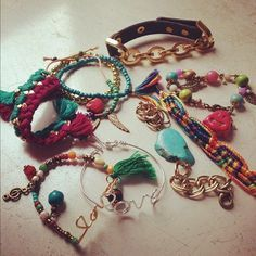 #accessoires #rings #bracelets #watches #handwear #love #sweet #girly #stuffs #share #friendships #colors #fashion #style #outfits