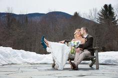 Winter Wedding Couple