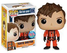 Figurine pop Dixième Docteur en combinaison spatiale (Tenth Doctor in Spacesuit) - Doctor Who - Funko Pop! Vinyl