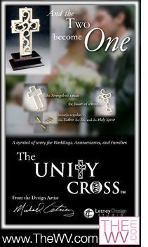 Unity Cross..DOING THIS. Saw it at a wedding I was helping with and absolutely fell in love with the idea♥