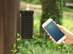 Solar Paper - World's Thinnest and Lightest Solar Charger Solar Paper, Solar Charger, Future Tech, Walkie Talkie, Cool Gadgets, Smartphone, Cool Stuff, World, Cable
