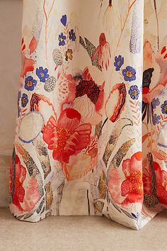 Garden Buzz Curtain - anthropologie.com #AnthroFave #anthropologie