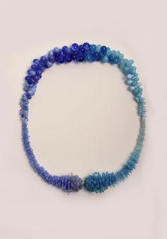 https://flic.kr/p/Ftuxpd   Bubble Flower collar   Glass flameworked by Jenine Bressner in Providence, RI