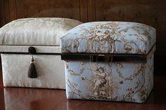 インテリア茶箱 Fabric Covered Boxes, Fabric Boxes, Organiser Box, Cigar Boxes, Cardboard Crafts, Diy Organization, Home Accessories, Decorative Boxes, Gifts