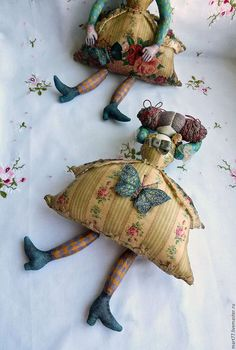 Коллекционная кукла `Клумба`. Ярмарка Мастеров. Olga Mart.