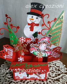 card in a box Christmas