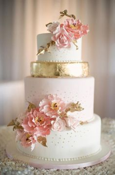 43 Yummy Summer Wedding Cakes   Weddingomania