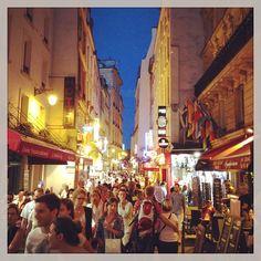 Rue de la Huchette a Parigi, Île-de-France