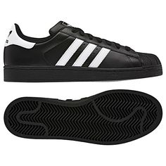 new product c6665 adb16 OG black shell toes w  white stripes Adidas Shoes Women, Adidas Men, Adidas