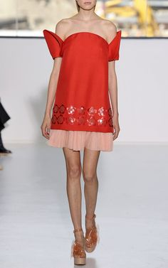 Delpozo Spring/Summer 2015 Trunkshow Look 25 on Moda Operandi