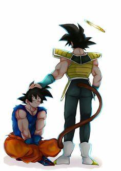 Goku and Bardock Family Mega Anime, Anime One, Anime Girls, Dragon Ball Z, Akira, Fanart Bts, Ball Drawing, Dragon Images, Son Goku