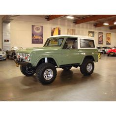 My dads color....70 Ford Bronco.