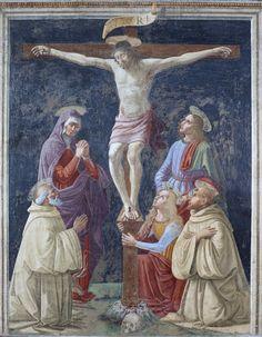 David Ghirlandaio - Crocefissione con Vergine e santi - Museo del Cenacolo di Andrea del Sarto - Firenze