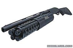X-Rail shotgun, guns, weapons, self defense, protection, protect, knifes, concealed, 2nd amendment, america, 'merica, firearms, caliber, ammo, shells, ammunition, bore, bullets, munitions #guns #weapons: