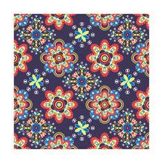 Mandala Geometry - Royal Blue The beauty of mandala geometry in Russian culture design of style  instagram.com/tseihadesign