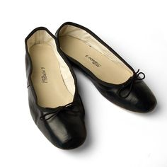 Porselli Ballet Flat 0,5 cm heel Black