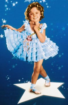 Friday, July 2, 2010:  A Special Day for Shirley Temple  ~  On this day in 1934, Shirley Temple signed a contract with Fox Film Corp., going from $150 a week to $1,000 plus bonuses. She was the most popular child star in Hollywood during the 1930s elevating her to the star status of people like Gary Cooper, Joan Crawford, and Clark Gable.