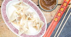 The now-shuttered Crystal Palace of Montreal used to serve these beef dumplings as an homage to the Quebecois favorite, peanut butter dumplings. Peanut Dipping Sauces, Peanut Butter Sauce, Beef Dishes, Pasta Dishes, Beef Dumplings, Buffalo Recipe, French Dishes, Asian Recipes, Ethnic Recipes